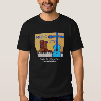 Camiseta de la inundación de Nashville Playeras