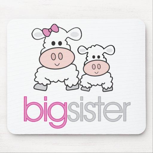 Camiseta de la invitación del embarazo de las ovej alfombrilla de ratones