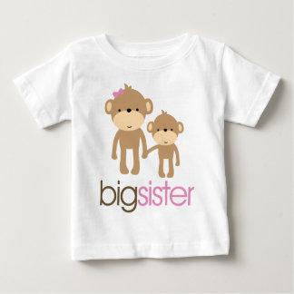 Camiseta de la invitación del embarazo del mono de