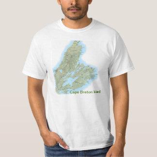 Camiseta de la Isla de Cabo Bretón con la cita de