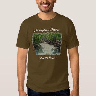 Camiseta de la isla de Guillighans, Puerto Rico Remera