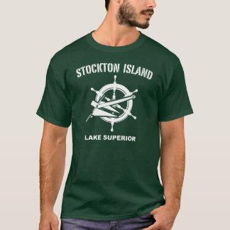 Camiseta de la isla de Stockton
