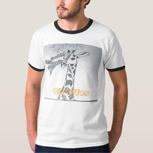 Camiseta de la jirafa