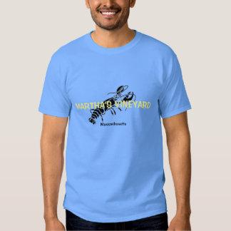 Camiseta de la langosta de Massachusetts del Polera