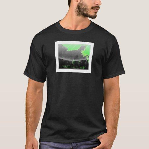 Camiseta de la lápida mortuoria
