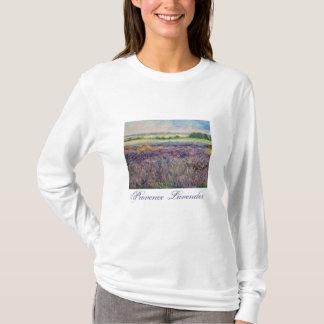 Camiseta de la lavanda de Provence