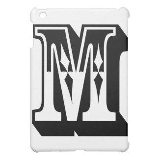 """Camiseta de la letra del texto del alfabeto de """"M"""""""