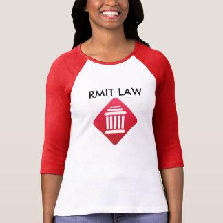 Camiseta de la LEY de RMIT Playeras