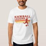 Camiseta de la leyenda de Kickball Camisas