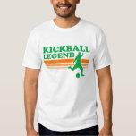 Camiseta de la leyenda de Kickball Remeras