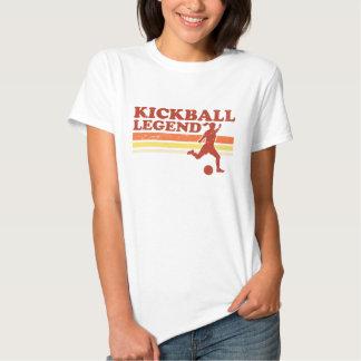Camiseta de la leyenda de Kickball (señoras) Playeras