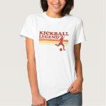 Camiseta de la leyenda de Kickball (señoras) Polera
