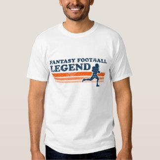Camiseta de la leyenda del fútbol de la fantasía poleras