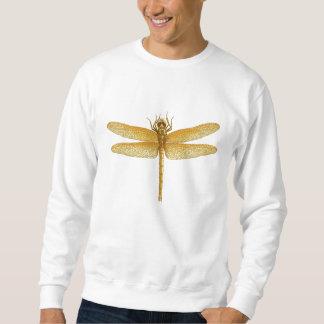 Camiseta de la libélula del oro