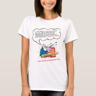 Camiseta de la libertad de cátedra de las mujeres