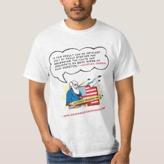 Camiseta de la libertad de cátedra de los hombres