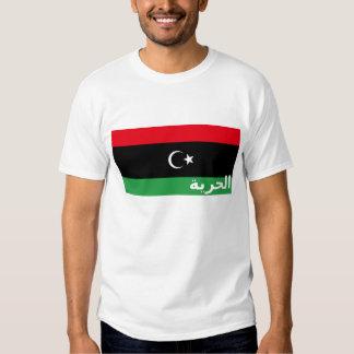 Camiseta de la libertad de Libia Remeras