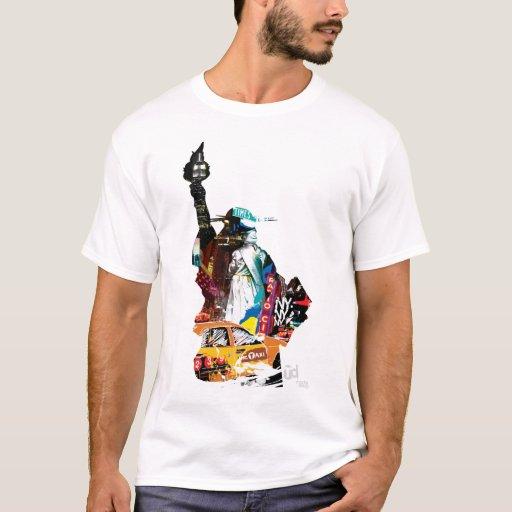 Camiseta de la libertad del metro NY