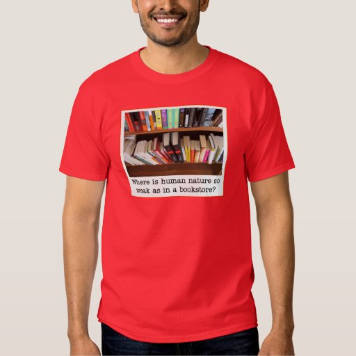 camiseta de la librería remera