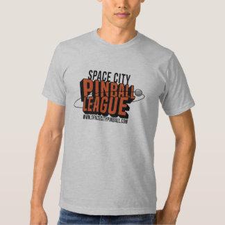 Camiseta de la liga del pinball de la ciudad del playeras