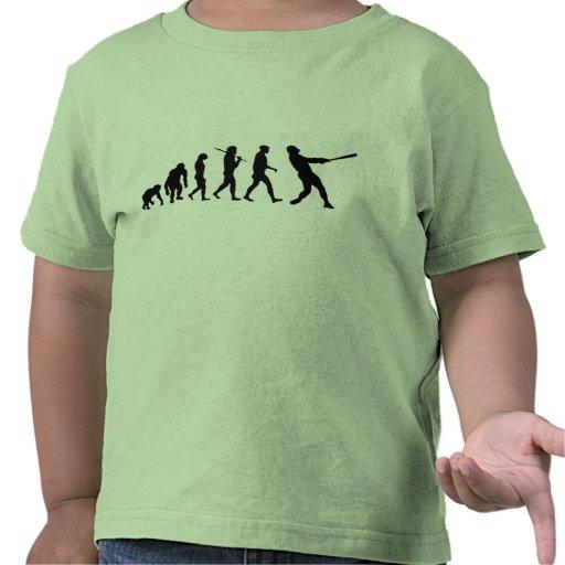 camiseta de la liga pequeña de la evolución del