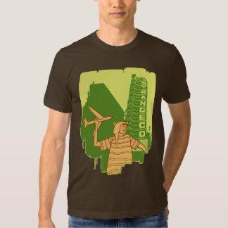 Camiseta de la LÍNEA AÉREA de STRANGECO Camisas