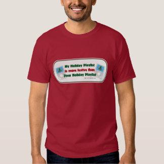 Camiseta de la lista de temas del día de fiesta camisas