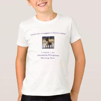 Camiseta de la llama de PK de los niños