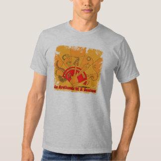 Camiseta de la locura de la guitarra camisas