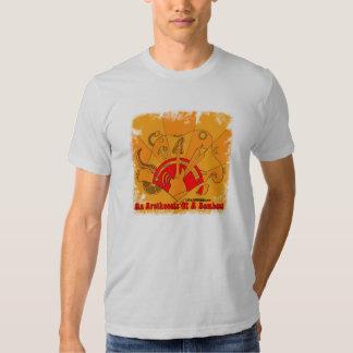 Camiseta de la locura de la guitarra playera