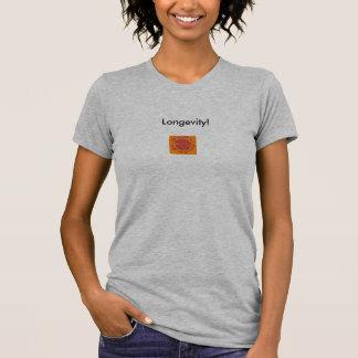 ¡Camiseta de la longevidad! Playera