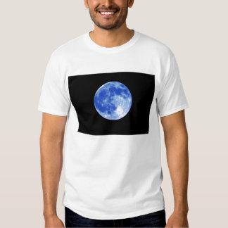 Camiseta de la luna azul remeras