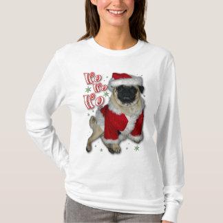 Camiseta de la luz del barro amasado de Santa