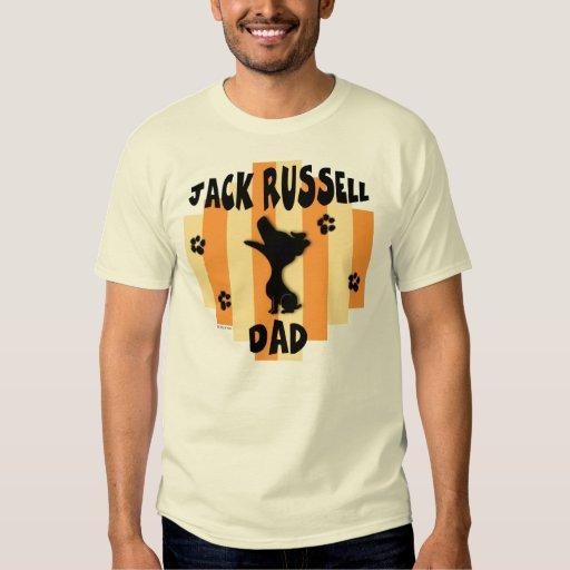 Camiseta de la luz del papá de Jack Russell Polera