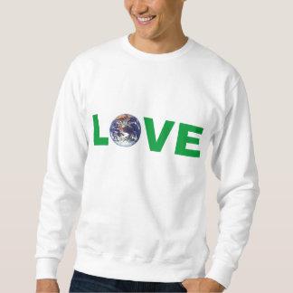 Camiseta de la madre tierra del amor sudaderas encapuchadas