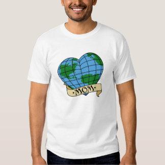 Camiseta de la madre tierra poleras
