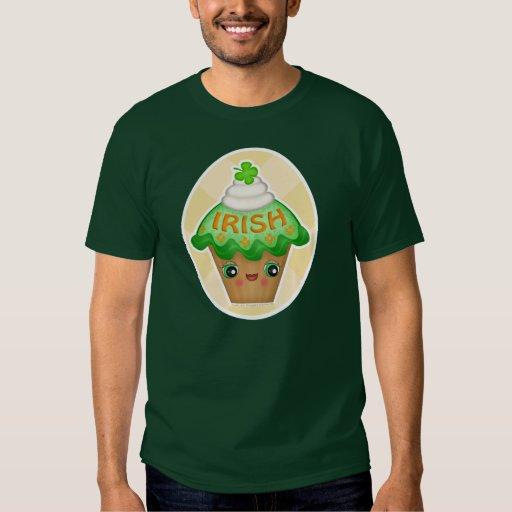 Camiseta de la magdalena de Kawaii del irlandés de Polera