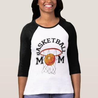 Camiseta de la mamá del baloncesto playera