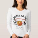 Camiseta de la mamá del baloncesto remera