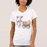 Camiseta de la mamá del conejito