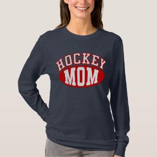 Camiseta de la mamá del hockey