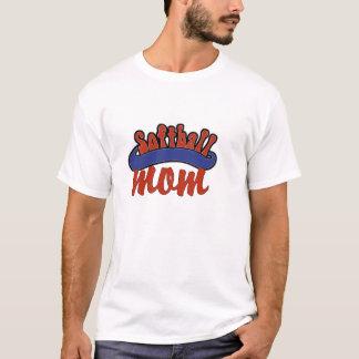 Camiseta de la mamá del softball