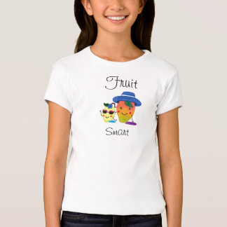 Camiseta de la manga casquillo del chica del