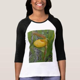 Camiseta de la manga de las señoras del deslizador playera