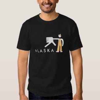 Camiseta de la mano de Alaska Playeras