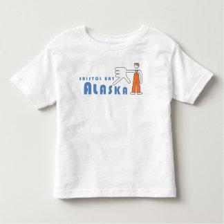 Camiseta de la mano de la bahía de Bristol de los Playeras