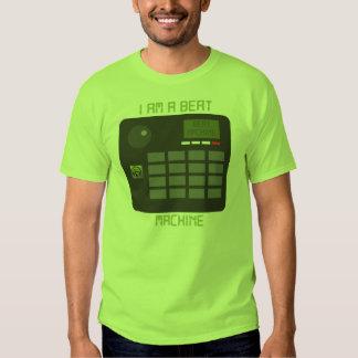 Camiseta de la máquina del golpe (verde) playera