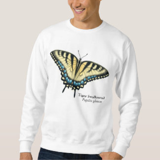 Camiseta de la mariposa de Swallowtail del tigre