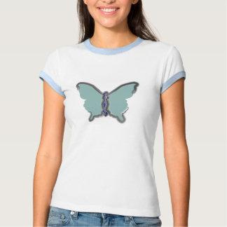 Camiseta de la mariposa playeras