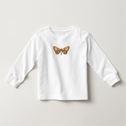 camiseta de la mariposa remera